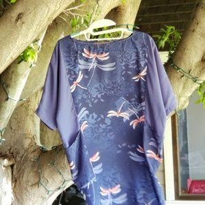 Karen Zambos dragonfly dress
